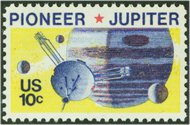 1556 10c Pioneer-Jupiter F-VF Mint NH 1556nh