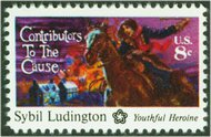 1559 8c Sybil Ludington F-VF Mint NH 1559nh