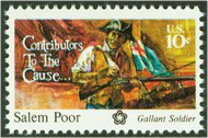 1560 10c Salem Poor F-VF Mint NH 1560nh