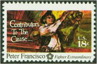 1562 18c Francisco F-VF Mint NH 1562nh