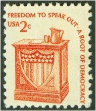 1582 2c Freedom of Speech F-VF Mint NH 1582nh