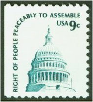 1590 9c Assemble [from booklet] F-VF Mint NH 1590nh