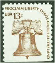 1595 13c Liberty Bell [from booklet] F-VF Mint NH 1595nh