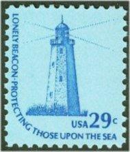 1605 29c Lighthouse F-VF Mint NH 1605nh