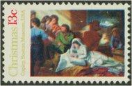 1701 13c Christmas Nativity F-VF Mint NH 1701nh
