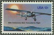 1710 13c Charles Lindbergh F-VF Mint NH 1710nh