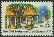 1725 13c Alta California F-VF Mint NH 1725nh