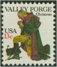 1729 13c Christmas-Washington F-VF Mint NH 1729nh