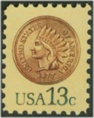 1734 13c Indian Head Cent F-VF Mint NH 1734nh