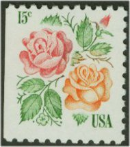 1737 15c Roses [from booklet] F-VF Mint NH 1737nh