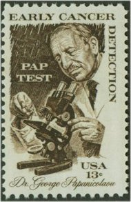 1754 13c Dr. Pap-Cancer F-VF Mint NH 1754nh