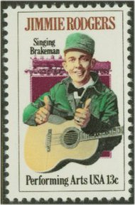 1755 13c Jimmie Rodgers F-VF Mint NH 1755nh