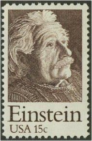 1774 15c Albert Einstein F-VF Mint NH 1774nh