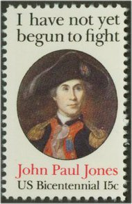 1789 15c John Paul Jones F-VF Mint NH 1789nh