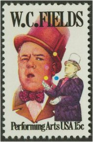 1803 15c W. C. Fields F-VF Mint NH 1803nh