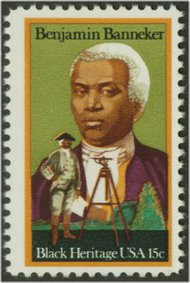 1804 15c Ben Banneker F-VF Mint NH Plate Block of 12 1804pb