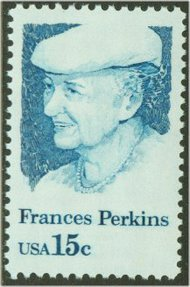 1821 15c Francis Perkins F-VF Mint NH 1821nh