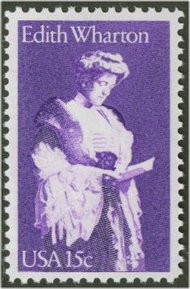 1832 15c Edith Wharton F-VF Mint NH 1832nh