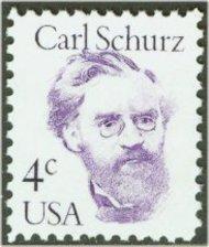 1847 4c Carl Schurz F-VF Mint NH 1847nh
