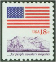 1893 18c Flag [from booklet] F-VF Mint NH 1893nh