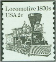 1897A 2c Locomotive Coil F-VF Mint NH 1897anh