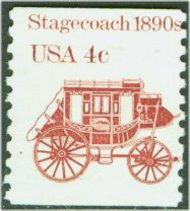 1898A 4c Stagecoach Coil F-VF Mint NH 1898anh