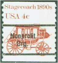 1898Ab 4c Stagecoach Precancelled Mint NH Plate Strip of 3 1898abpnc