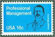 1920 18c Professional Management F-VF Mint NH 1920nh