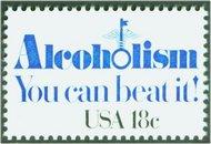 1927 18c Prevent Alcoholism F-VF Mint NH 1927nh