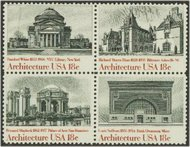 1928-31 18c American Architecture 4 Singles F-VF Mint NH 1928sing