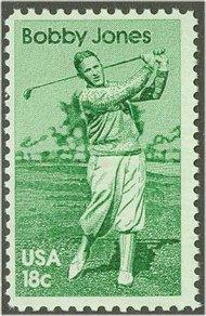 1933 18c Bobby Jones F-VF Mint NH 1933nh