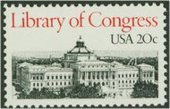 2004 20c Library of Congress F-VF Mint NH 2004nh