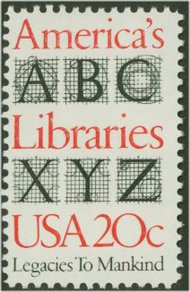 2015 20c Libraries F-VF Mint NH 2015nh