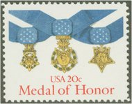 2045 20c Medal of Honor F-VF Mint NH 2045nh