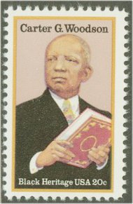 2073 20c Carter G. Woodson F-VF Mint NH 2073nh