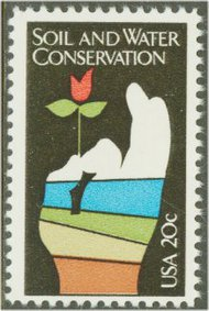 2074 20c Soil & Water Conservation F-VF Mint NH 2074nh