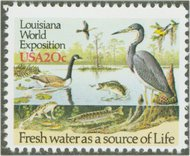 2086 20c Louisiana Expo F-VF Mint NH 2086nh