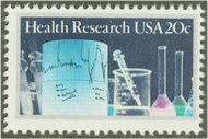 2087 20c Health Research F-VF Mint NH 2087nh