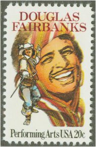 2088 20c Douglas Fairbanks F-VF Mint NH 2088nh
