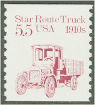 2125 5.5c Star Route Truck Coil F-VF Mint NH 2125nh