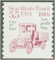 2125a 5.5c Star Route Truck Precancel Coil F-VF Mint NH 2125anh