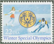 2142 22c Special Olympics F-VF Mint NH 2142nh