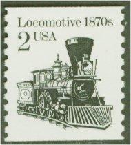 2226 2c Locomotive Reprint Coil F-VF Mint NH 2226nh