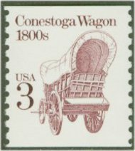 2252 3c Conestoga Wagon Coil F-VF Mint NH 2252nh