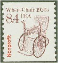 2256 8.4c Wheel Chair Coil F-VF Mint NH 2256nh