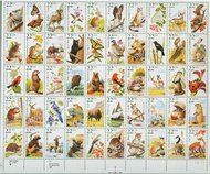2286-2335 Wildlife Sheet of 50 F-VF Mint NH 2286sh