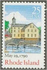 2348 25c Rhode Island F-VF Mint NH 2348nh