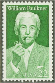 2350 22c William Faulkner F-VF Mint NH 2350nh