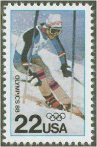 2369 22c Winter Olympics F-VF Mint NH 2369nh