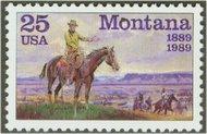 2401 25c Montana Statehood F-VF Mint NH 2401nh